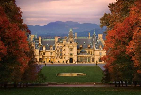 Get close to fall color at Biltmore in