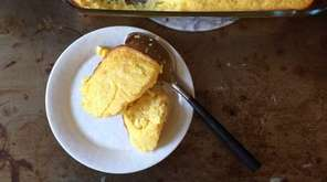 As its name suggests, spoon bread is too