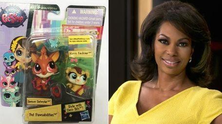 Fox News anchor Harris Faulkner sued toymaker Hasbro