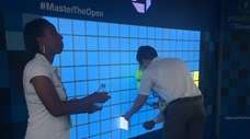At the U.S. Open, Chase is providing free