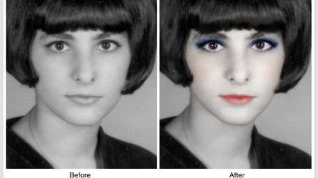 The YouCam Makeup app helps you put on