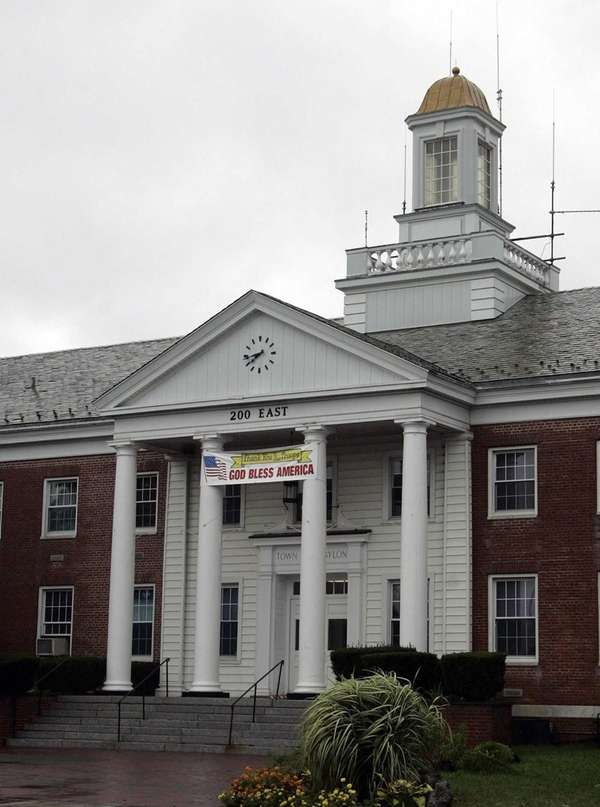 Babylon Town Hall in Babylon is seen Thursday,