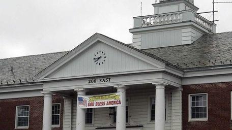 Babylon Town Hall in Babylon is seen Thursday,