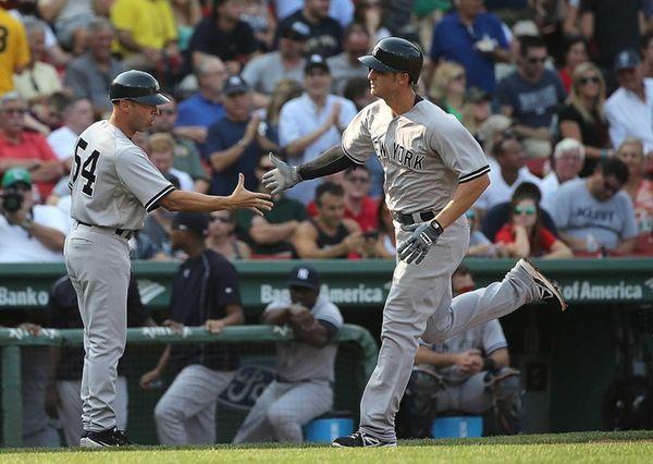 Greg Bird of the New York Yankees is