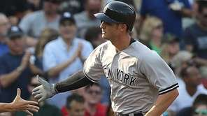 Greg Bird of the New York Yankees is