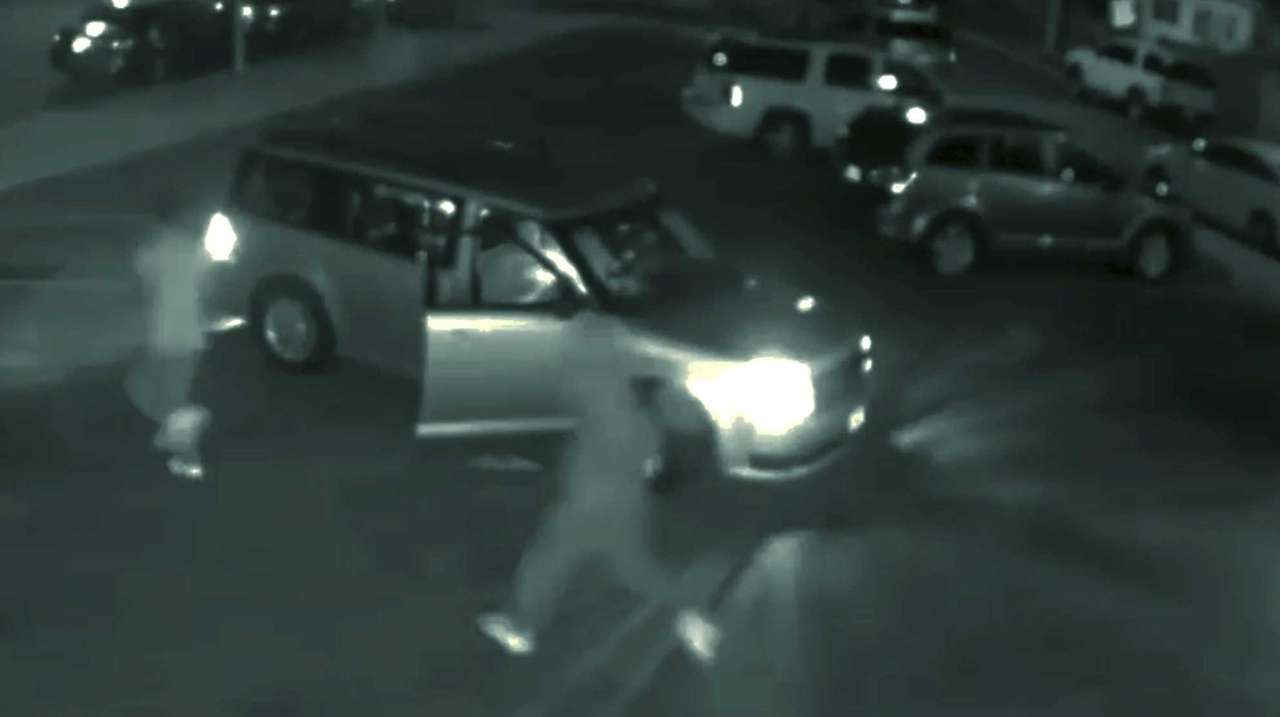 Surveillance photo shows the scene in Far Rockaway