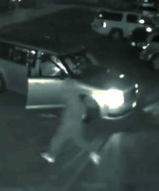 Surveillance photo shows the scene in Far Rockaway