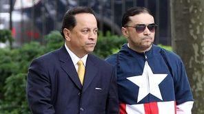 Former state Senate power broker Pedro Espada arrives