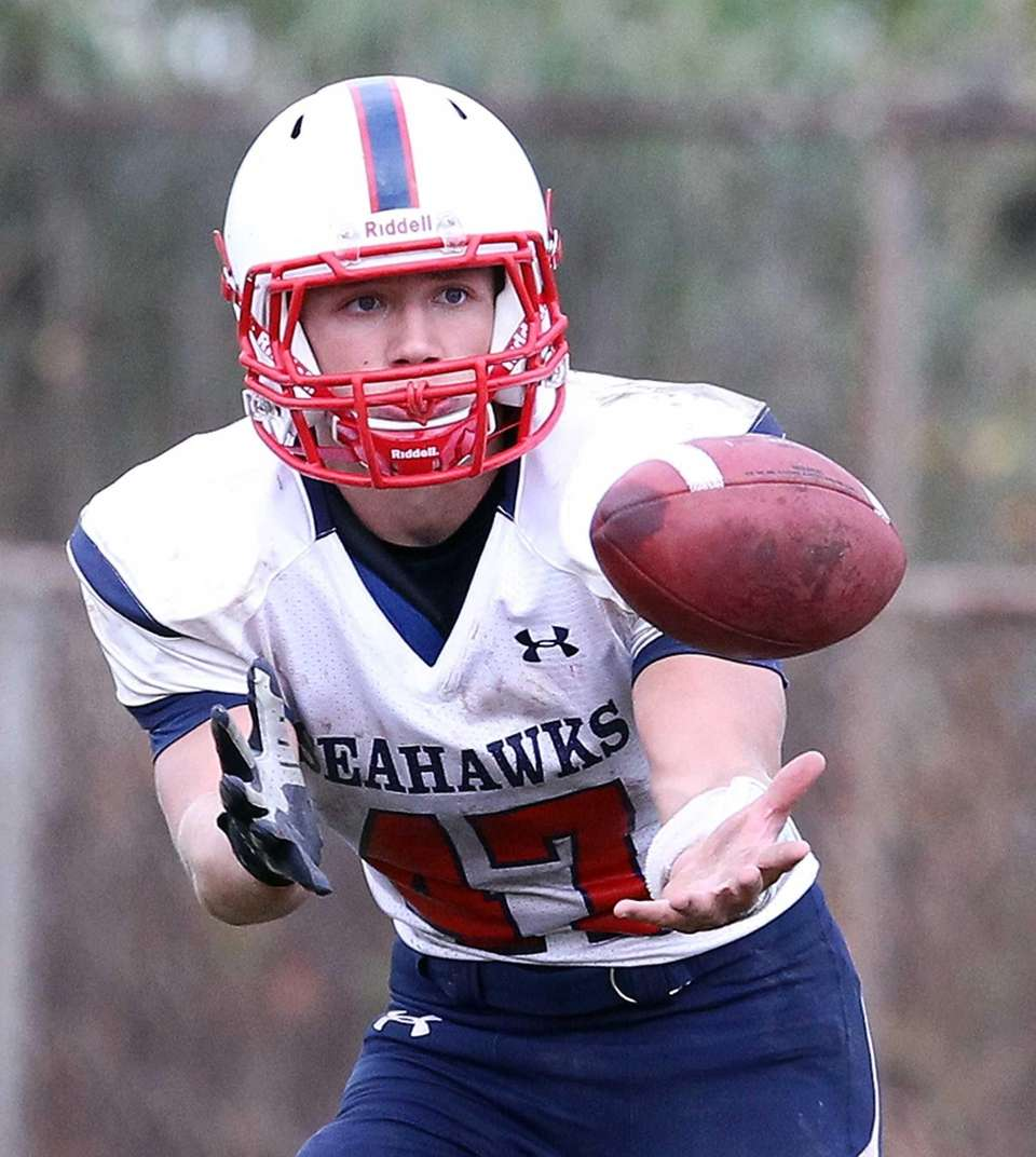 Cold Spring Harbor, senior Running back/linebacker Alex Kaley