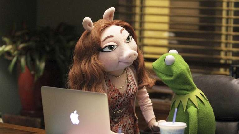Denise and Kermit the Frog in