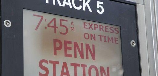 Long Island Rail Road officials said trains were
