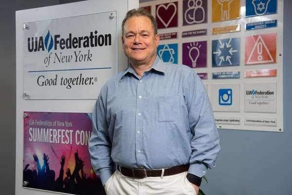 Stuart Tauber, vice president of the UJA-Federation of