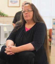 Kim Davis, the Rowan County Clerk of Courts,