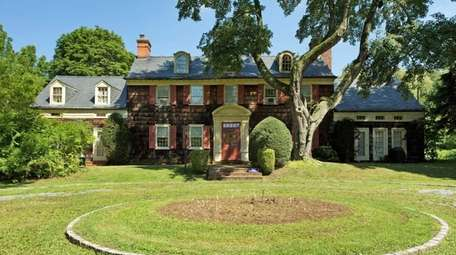 This Old Brookville home, the first portion of