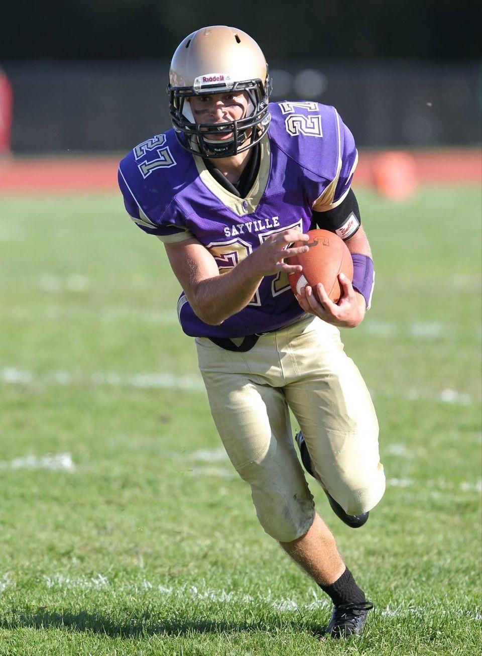 Junior quarterback Jack Coan added to his already