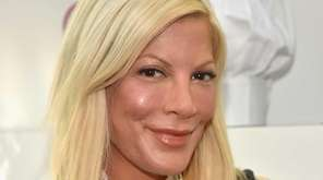 Actress Tori Spelling is suing Benihana for burns
