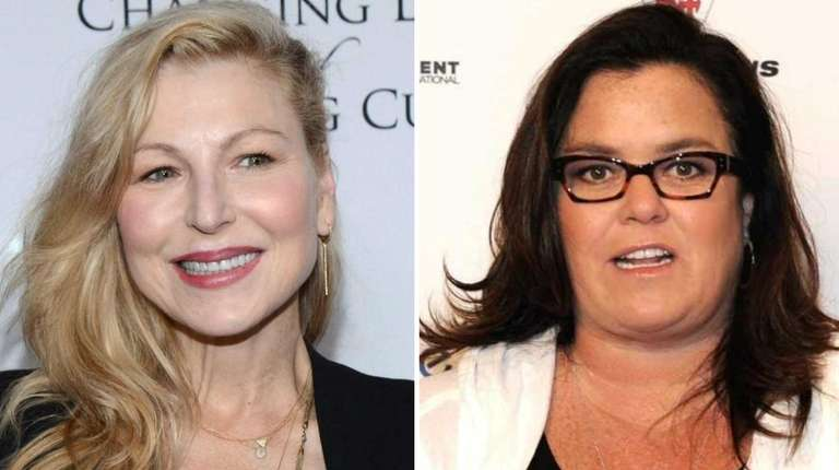 Tatum O'Neal on Nov. 20, 2014 (left); Rosie
