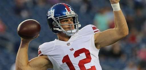 Ryan Nassib of the New York Giants takes