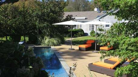 This East Hampton residence, now on the market