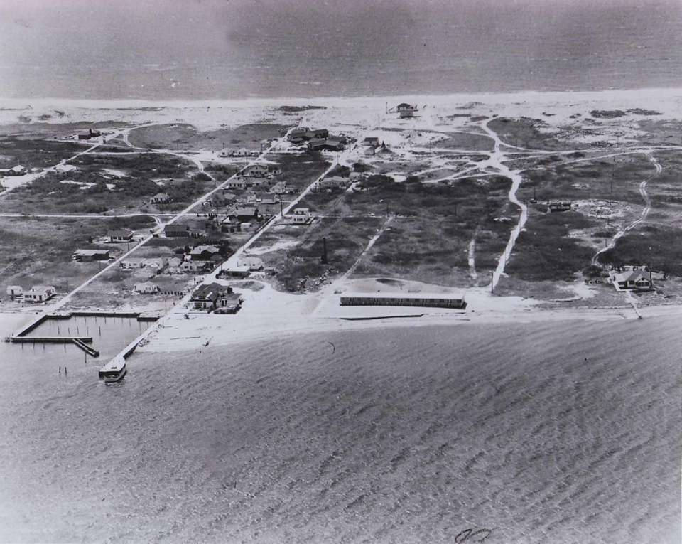 The Kismet section of Fire Island in 1956.