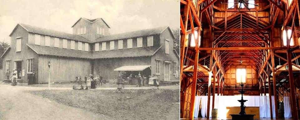 Old Bethpage's Exhibition Hall dates back to the