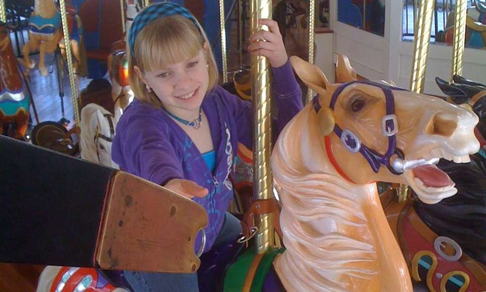 Fewer than 20 vintage carousels in the country