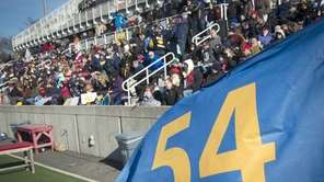 The number of Shoreham-Wading River's Tom Cutinella waves