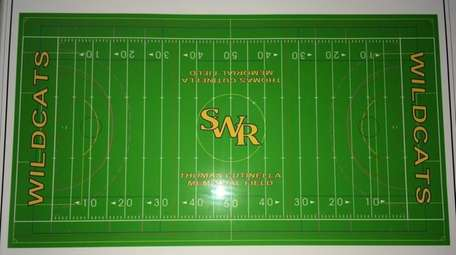 A rendering of the new multi-purpose turf field