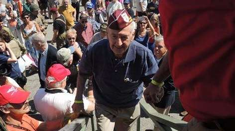 Former World War II prisoner of war Steve