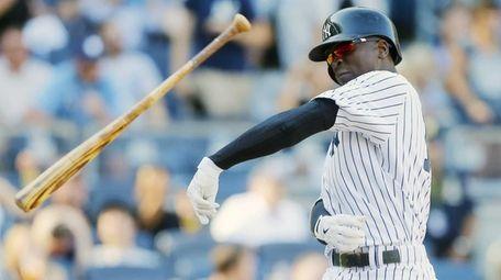 Didi Gregorius of the New York Yankees throws