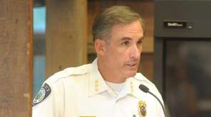 East Hampton Police Chief Michael Sarlo discusses ways