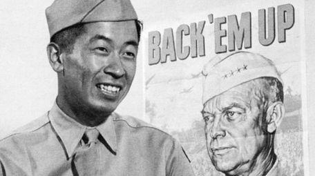 Ben Kuroki, the son of Japanese immigrants who