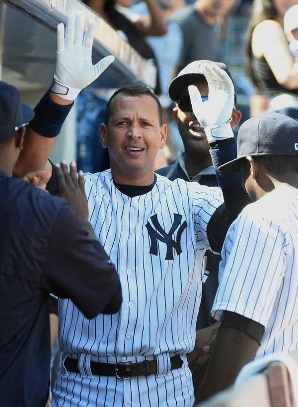 New York Yankees designated hitter Alex Rodriguez is