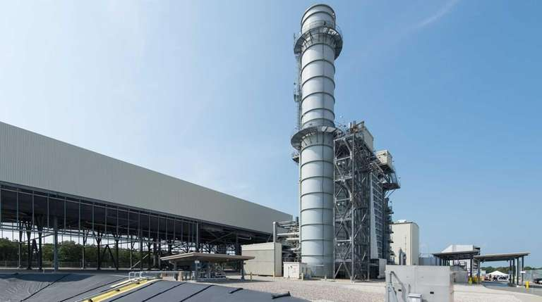 The Caithness power plant facility in Yaphank is