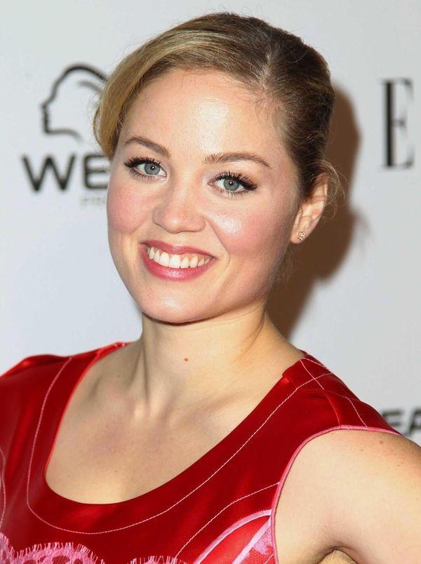 Erika Christensen arrives at Elle Women in Television