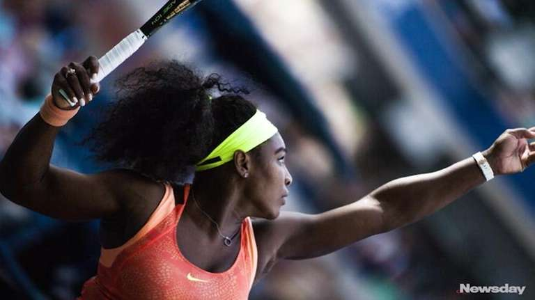 Serena into quarters