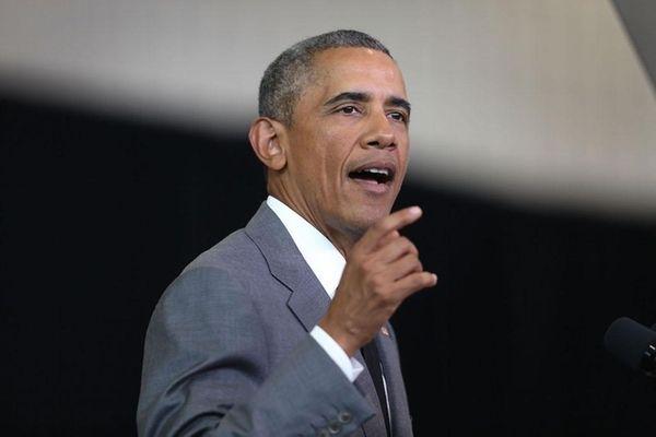 U.S. President Barack Obama on August 27, 2015