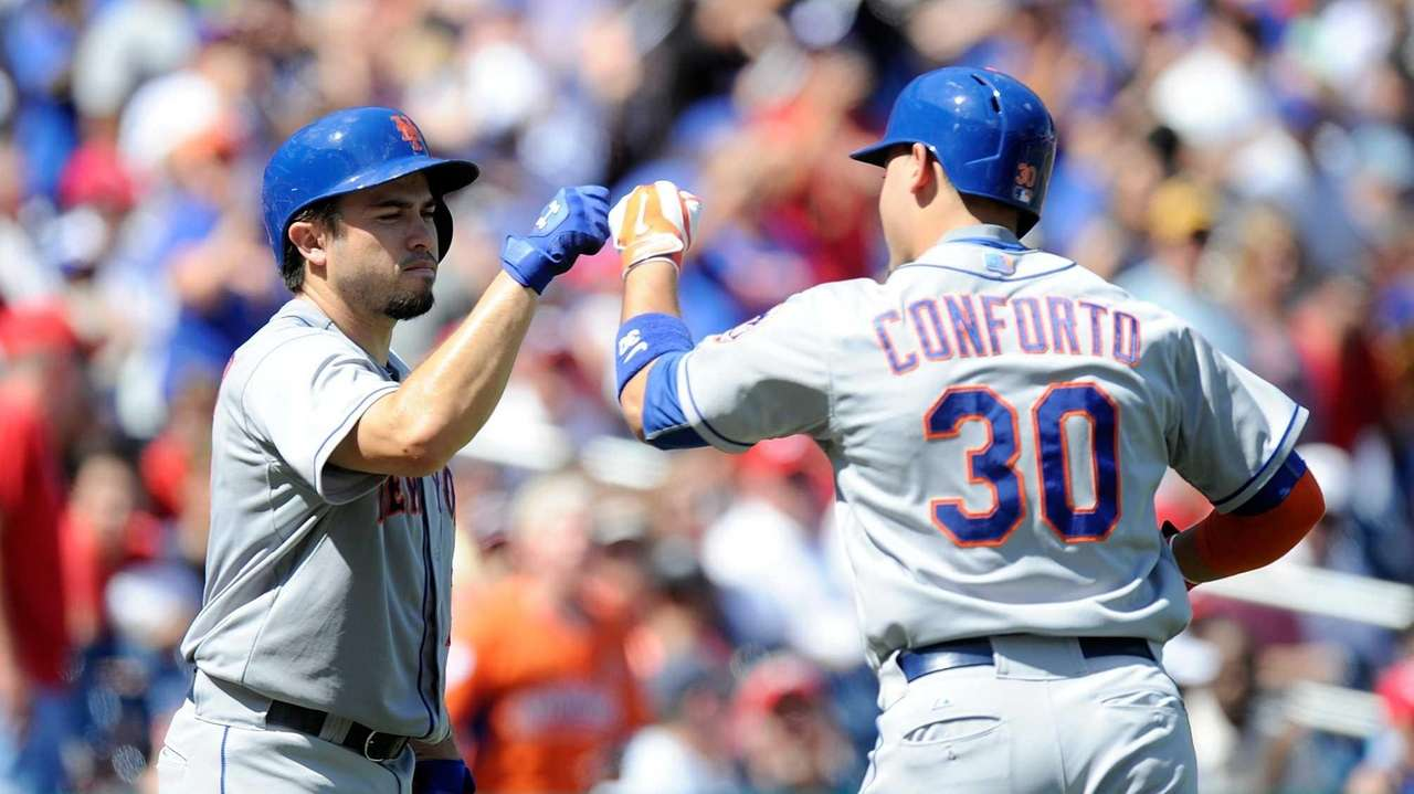 WASHINGTON, DC - SEPTEMBER 07: Michael Conforto #30