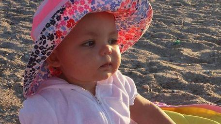 Cassidy Dawn Pesce at Cedar Beach in the