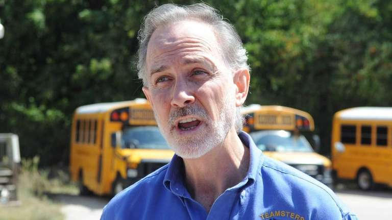 Timothy Lynch, president of Teamsters Local 1205, warns