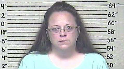 Kim Davis, a Rowan County, Ky. clerk who