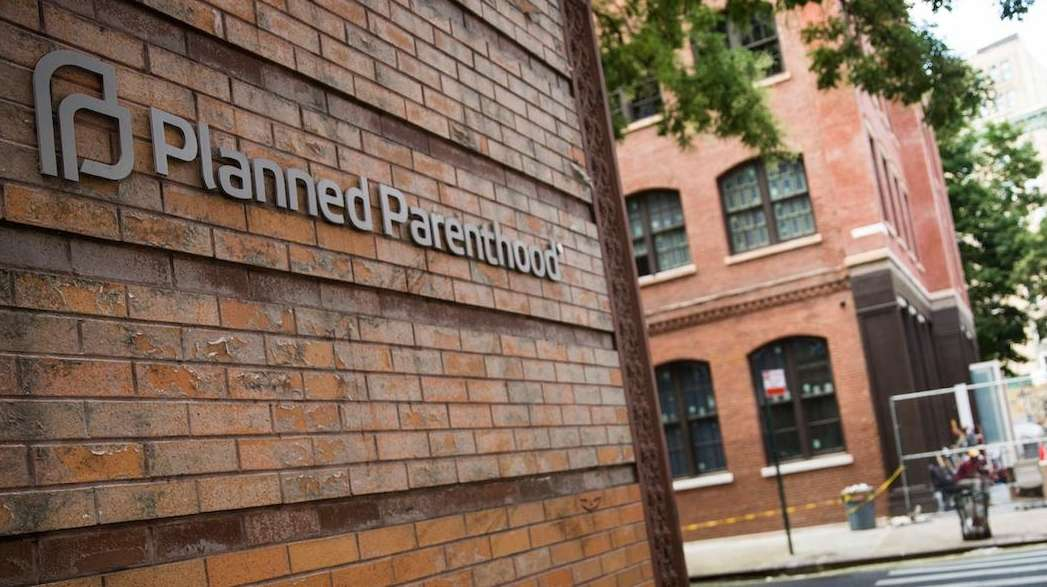 A Planned Parenthood location is seen on August