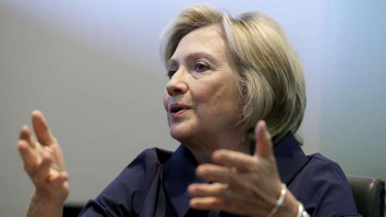 Hillary Clinton will appear on