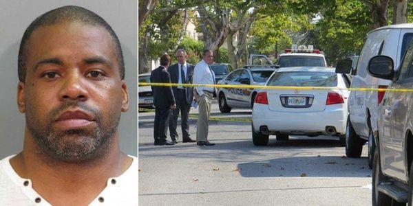 Nathan Barnwell, left, 45, of Baldwin, was arrested