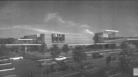 An artistic rendering of the casino that Suffolk
