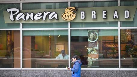 A Panera Bread restaurant on May 5, 2015