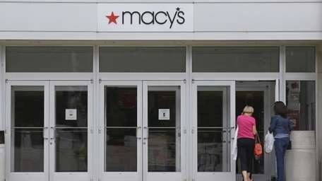 A Macy's department store in Hanover, Mass., on