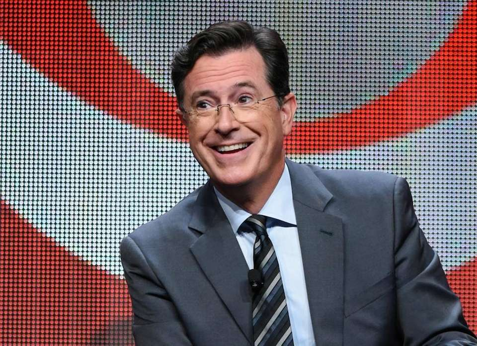 Stephen Colbert is in the midst of his