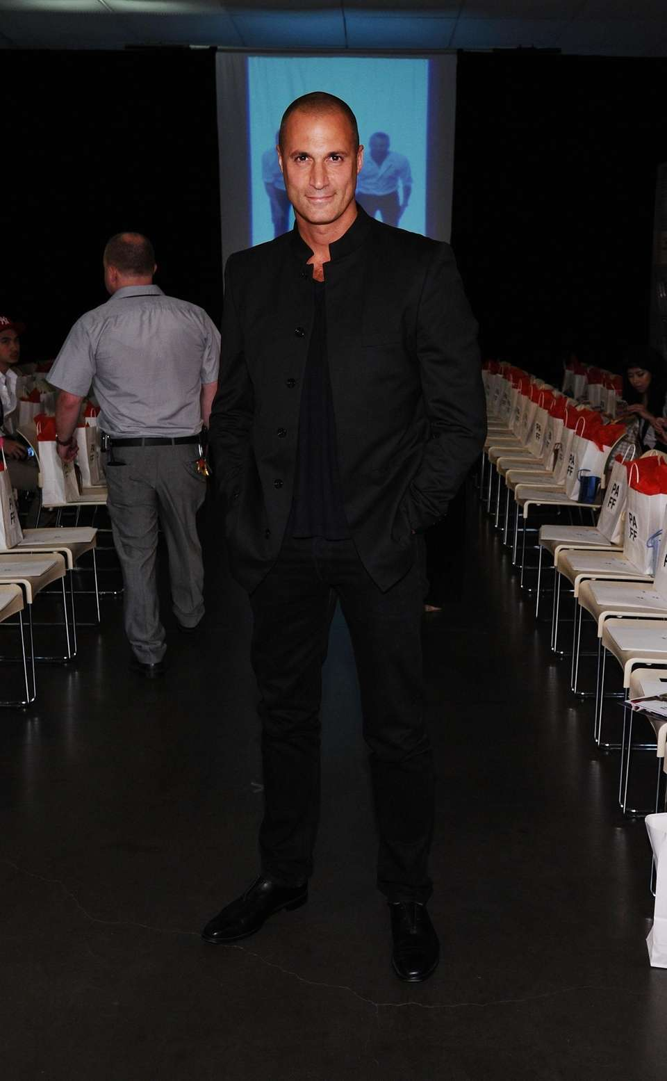 TV personality Nigel Barker attends the Polish American