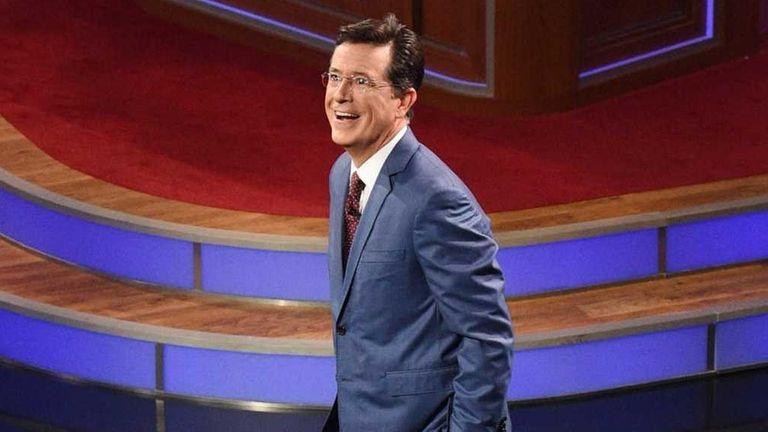 Stephen Colbert debuts